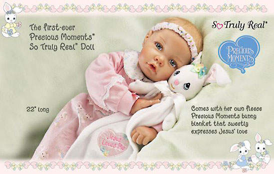 Jesus Loves Me Precious Moments Doll